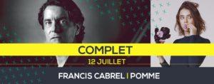 Francis Cabrel à Poupet le 12 juillet