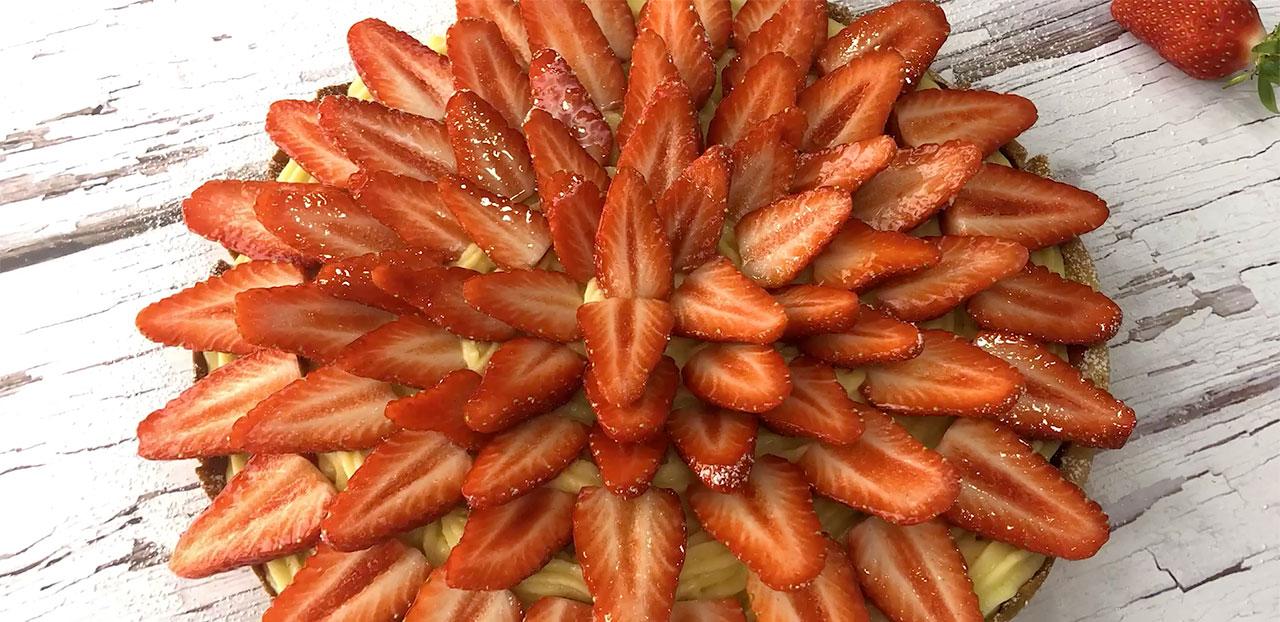 Tarte aux fraises de Vendée